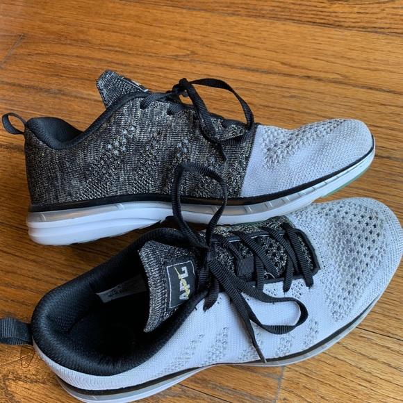 8ac845854d60 APL Shoes - APL TECHLOOM PRO US 10 Black white gold sneakers